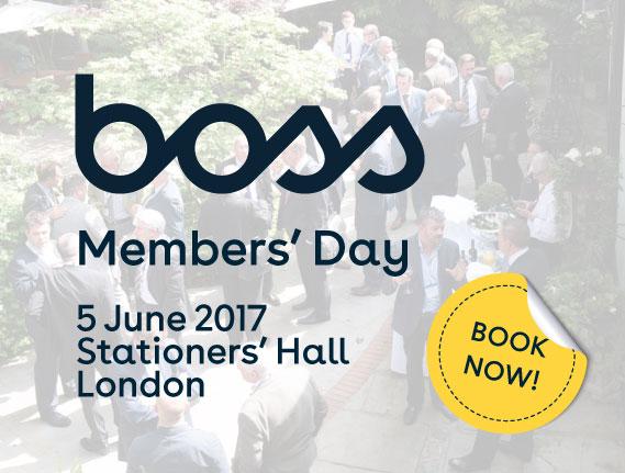 BOSS Members' Day 2017
